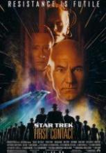 Star Trek 8: First Contact – İlk Temas tek part film izle