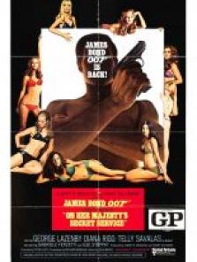 James Bond 1969 tek part film izle