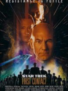 Star Trek 8: First Contact – İlk Temas tek part film izle